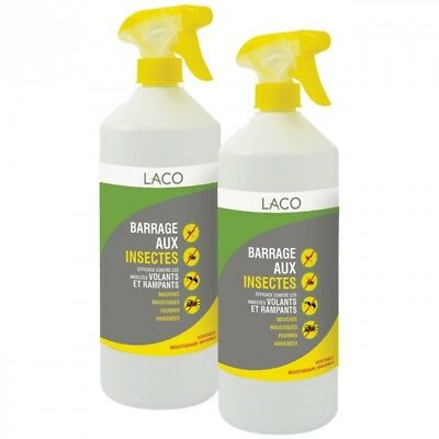 Lot de 2 Barrages aux Insectes 1L