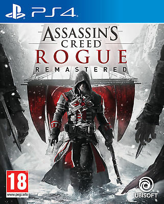Assassins Creed Rogue Remastered Playstation 4 (PS4) Game Brand New Sealed