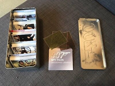 007 Spy Files Cards with Tin