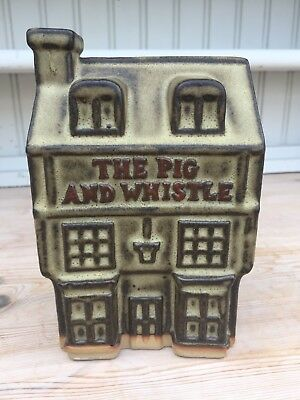 Tremar Pottery 'The Pig And Whistle' Pub Moneybox
