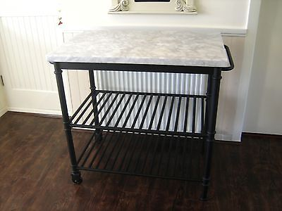 Marks and Spencer Marble Kitchen Island