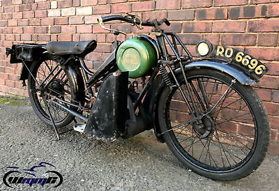 1927 ROYAL ENFIELD 225cc * VERY RARE * ORIGINAL NUMBER - TWO OWNERS