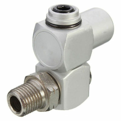 1/4'' Aluminum 360° Swivel Air Hose Connectors Adapter Fitting Tool Coupler NPT