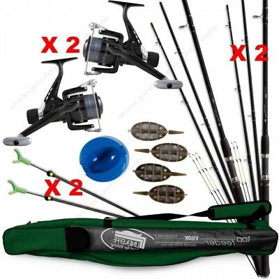 Pack complet top pêche feeder / quiver