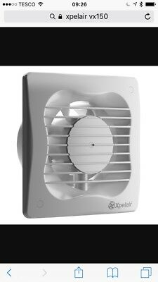 """Xpelair Extractor Fan Vx150 6"""" New In Box"""