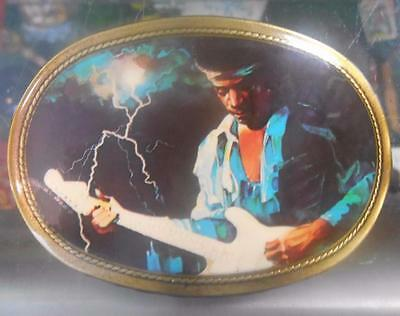 1977 Pacifica Jimi Hendrix Belt Buckle One Of The RAREST #6 Nice Piece