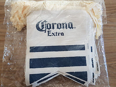 Corona Beer String Flags (bunting) Chain of 36 *NEW*