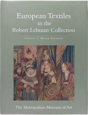 Antique European Textiles Tapestry Clothing Silk Embroidery- Lehman Collection