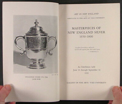 Antique New England Silver - 1939 Yale University Exhibit Catalog