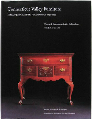Antique Connecticut River Valley Furniture -Large Important Book