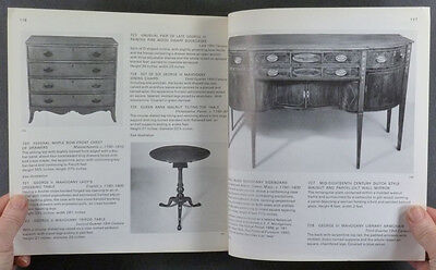 Antique American Colonial Furniture - Whiting Collection 1972 Auction