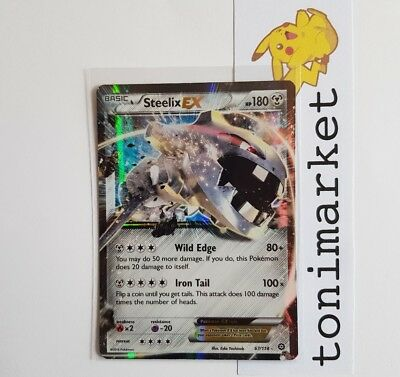 STEELIX EX RARA 67/114 Carta Pokemon Steam Siege ING MINT NUOVA!!