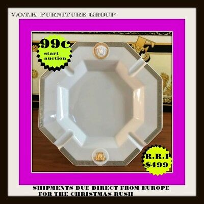 Versace Rosenthal Gorgona Ash Tray 24Cm - 100% Authentic & Brand New