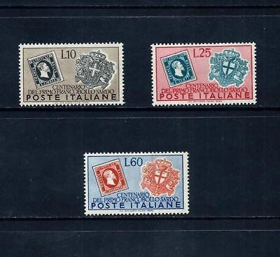 ITALY _ 1951 'SARDINIA POSTAGE CENTENARY' SET of 3 _ mlh ____(501)