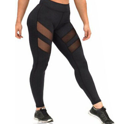 Womens Athletic Pants Sports YOGA Workout Gym Fitness Leggings Jumpsuit Clothes