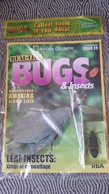 National Geographic Real-life Bugs & Insects magazine Issue 39