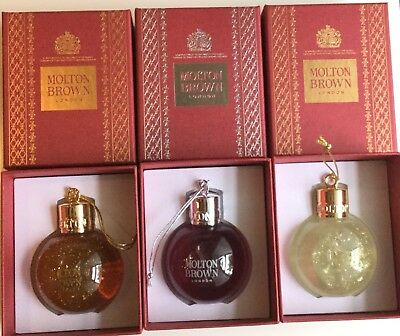 Molton Brown Festive Bauble 75ml Gorgeous Christmas Gift in Box