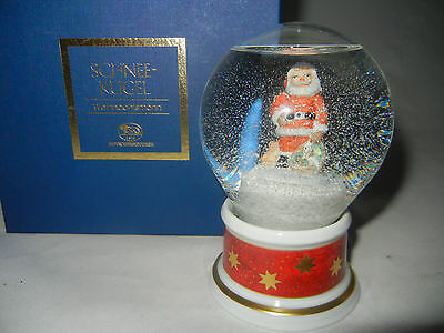 Hutschenreuther Snow Globe 2003 Santa Claus - First Edition (My pos-nr. 2003-7)