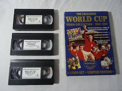 The Exclusive World Cup Video Collection 1954 - 1994