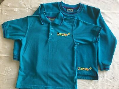 Beaver cub polo shirt & sweater, size 70cm/28in, VGC