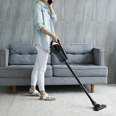 2 in1 Cordless Upright Stick Handheld Vacuum Cleaner 4.5 kpa Powerful Cyclonic Q