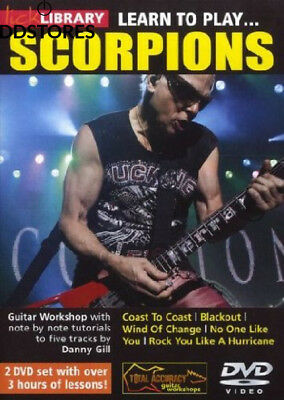 Lick Library - Learn to Play Scorpions [Reino Unido] [DVD]