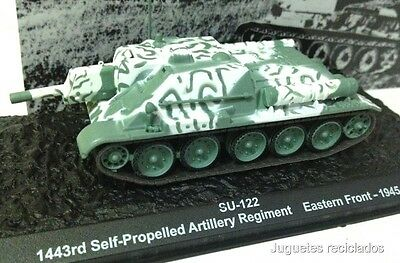 1/72 Su-122 Self Propelled Artillery Regiment 1945 Wwii Tank Tanque Altaya