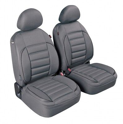 Pilot Deluxe Front Seat Cover Sport Edition, Grey