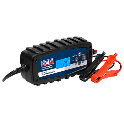 Sealey Stc40 Car Van Motorbike 12V 12 Volt 6V 6 Volt Compact Battery Charger