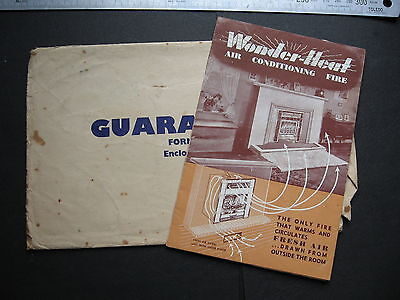 Wounder Heat Air Conditioning Fire BROCHURE