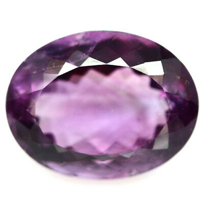 21.93 Ct Aaa! Natural! Purple Clr Change To Pink Amethyst Oval Brazilian