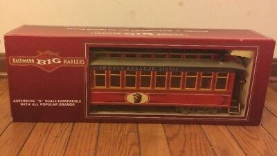 New Bachmann Emmett Kelly Circus G Scale Performers Car #1 Coach 97271 Lighted