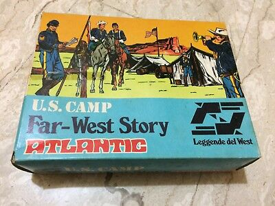 Atlantic 1:32 U.S. Camp 1207 - Scatola Originale Vuota.