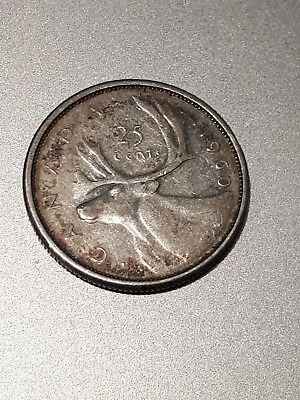 Canada 25 Cents 1960