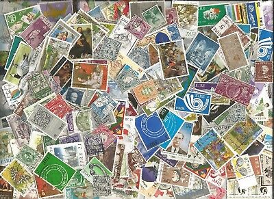 200  IRELAND      STAMPS section kiloware200  different off paper good used