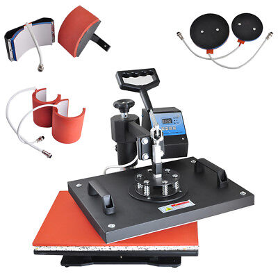 8 in 1 Heat Press Heating Machine Digital Transfer Sublimation for T-shirts Caps