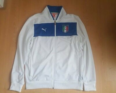 Italy Football National Team Track Jacket Medium
