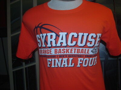 SYRACUSE(Orange Basketball)2016 FINAL FOUR CHAMPIONSHIP T-SHIRT.SM.By: Champion