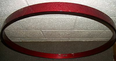 """Vintage TAMA Superstar 24"""" Bass Drum Hoop - Red Lacquer Finish - Repaired"""