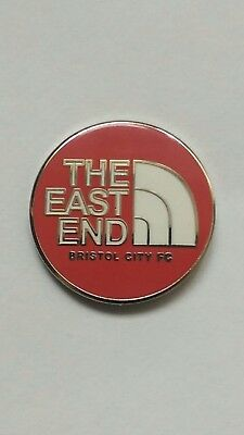 Bristol City Fc East End Pin Badge