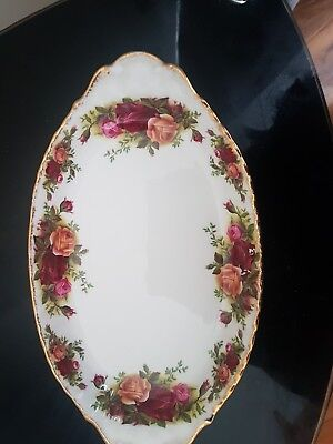 royal albert Old country roses oval dish