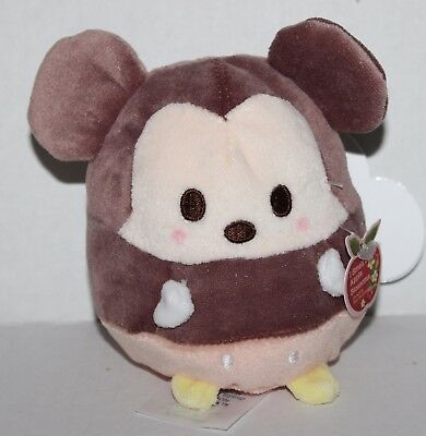 Mickey Mouse ufufy Apple Blossom Scented Disney Parks Plush *NWT*