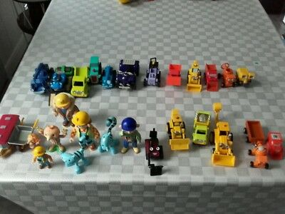 Bob The Builder  Mini Vehicles X19  And  8 Figures