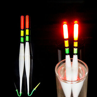 1XFishing Luminous Float Battery Operated LED Float Dark Water Night Fishing gi