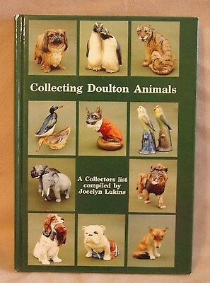 Book - Collecting Doulton Animals by Jocelyn Lukins