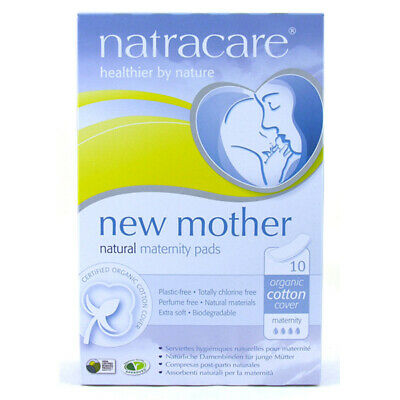 New Mother Natural Maternity Pads - 10