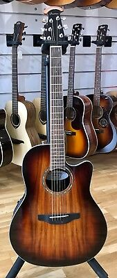 Ovation Celebrity Standard Plus Super Shallow CS28P KOAB - New & Free shipping