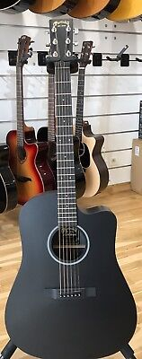 Martin & Co DCXAE BLK Acoustic Electric Dreadnought Guitar- New & Free shipping