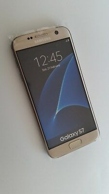 Samsung Galaxy S7 in Gold Handy Dummy Attrappe / Non Working Display Model