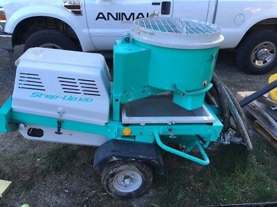 IMER Step-Up 120 Mixer Grout pump (cement pump) Barely Used